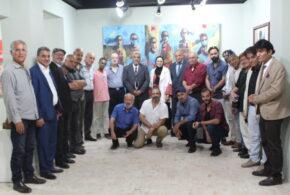 مبادرة بوح حرف تنظم لقاء أدبيا تعارفيا برابطة الفنانين التتشكيلين  الأردنيين
