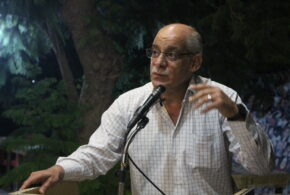 بالفيديو  والصور : الأمسية التي نظمها بيت الثقافة والفنون للشاعر  علي الفاعوري