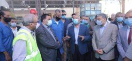 وزير النقل يتفقد محطتي رمسيس والمنيا والورش الإضافية