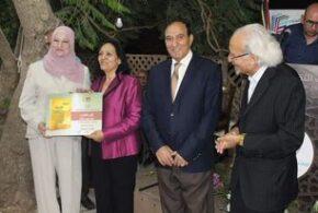 الجياد يختتم فعاليات الأردن تاريخ وانجاز بتوقيع كتاب غروب مشرق